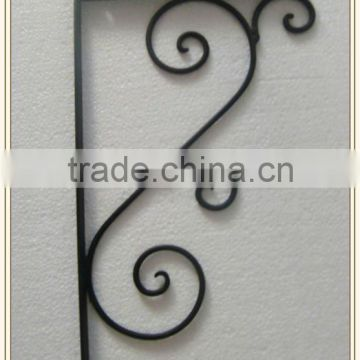 Black color wall Iron bracket