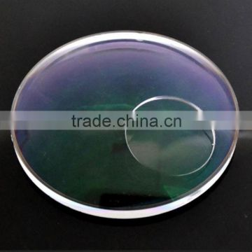 cr39 white photogray photobrown bifocal lens optical lens from China (CE, Factory)