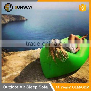 Latest Sofa Designs 2016 Portable Hangout Relax Inflatable Bed Air Bag