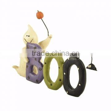 Custom 2017 halloween gifts letters figurines for sale