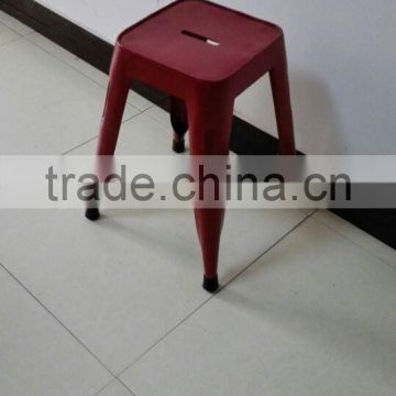 2015 Red Metal Durable Cheap Stool