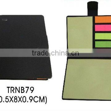 Hot selling sticky memo pad and colorful posted for promotion