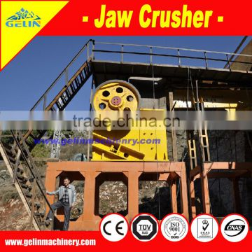 High Capacity Stone Jaw crusher machinery made in China