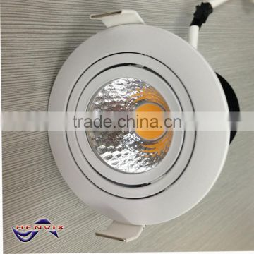 Highest quality 10W warm white led recessed downlight, 230v led downlight