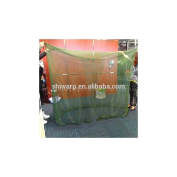 Military rectangular green mosquito nets bed canopy