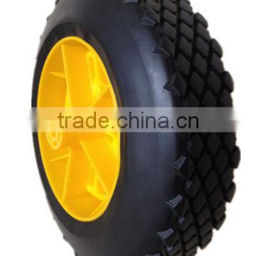 10 inch plastic wheel for hand truck, garden cart, generator