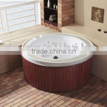 deluxe outdoor round spa WS-096