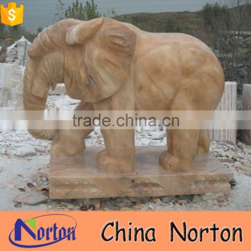 indonesia garden decor marble large elephant statues NTBM-A010X