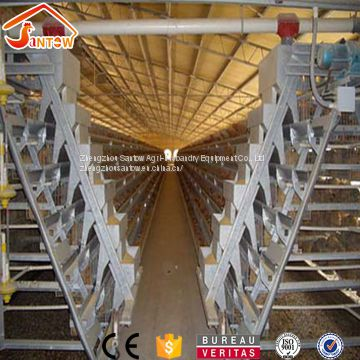 Best Quality Hot Galvanized Poultry Chicken Cage Cold Galvanized Laying Hen Battery Cage For Sale Nigeria Africa