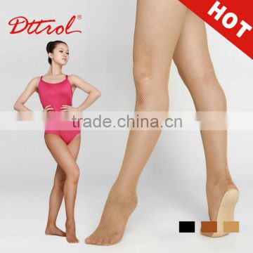 D004813 Stockings world professional fishnet seamless dance tights for women feet tube pantyhose