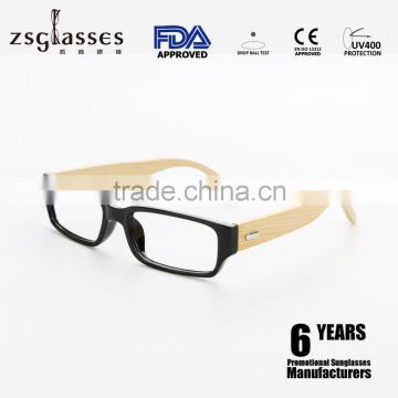 pc frame and bamboo arm sunglasses reading sunglasses special sunglasses