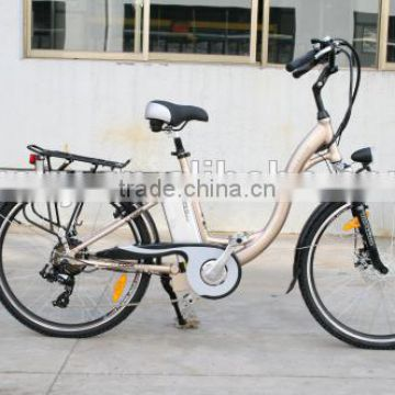 250W rear motor,36V10A Lithium battery,Sinwave controller,LED display CE woman electric bike