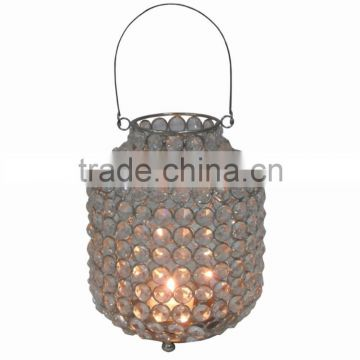 Metal Crystal Lantern