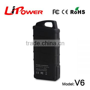 easy start 14000mAh 12 volt lithium ion battery CE FCC Rohs Certification power bank with jumper leads