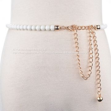 Wedding pearl chain belts