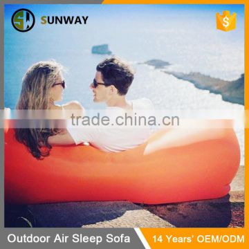 Factory Wholesale Air Hangout Lounger Inflatable Sleeping Bag