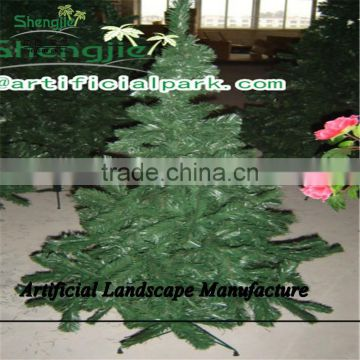 SJZJN 1495 Evergreen Fake Christmas Tree/Festival Decorative Artificial Cheristmas Tree