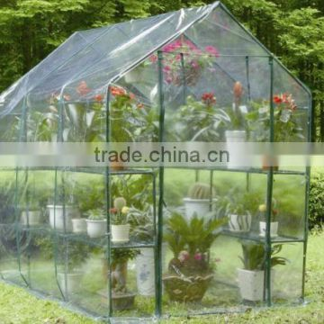 Plastic cover garden used mini green houses for sale