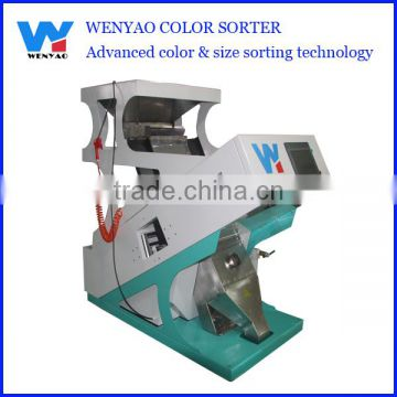 one chute professional Moong Dhal ccd color sorting machine