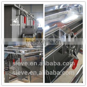Gaofu hot sale screen machine for salt industry