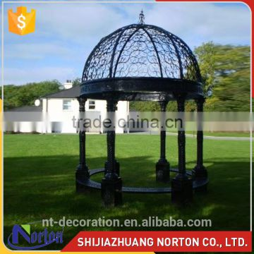 home decor large golden luxury garden gazebos NTIG-022Y