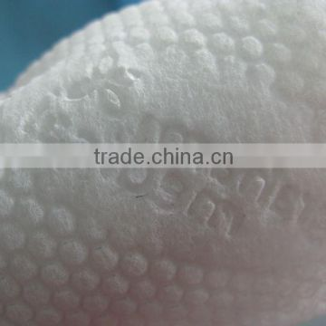 solid female and male embossing rollers for medical nonwoven fabric