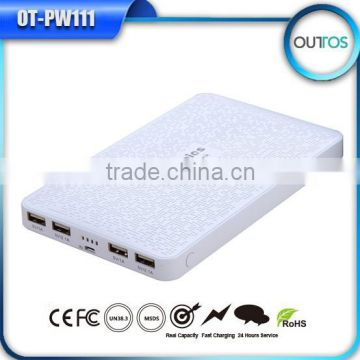 Shenzhen factory cheapest price 4 outputs ultra thin power bank 18000mah lithium polymer                                                                         Quality Choice