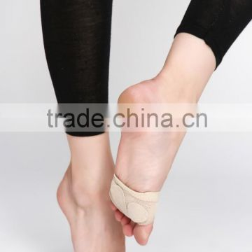 D006109 Half sole ballet footundeez neoprene footthongs sole shield with five holes for modern dance shoes