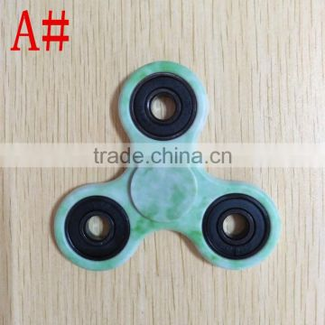 Hot selling 2017 Wholesale ABS Fidget Toy Hand Spinner Camo Fidget Spinner