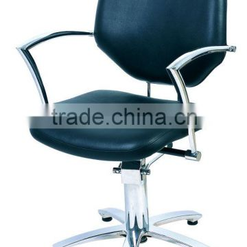 simple design and pupular black salon chairs