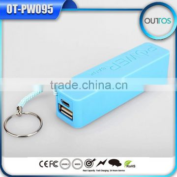 Hot Sale 2015 Perfumes Wholesale Portable Power Bank 2600mAh for Xiaomi