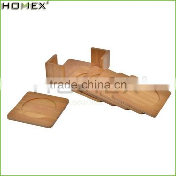 hot sale high quality heat insulation bamboo table mat coaster set/Homex_Factory