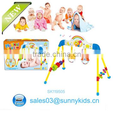 Infant bed toy baby rattle toy for wohlesales