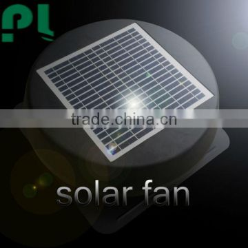 Solar vent 12 inch dc fan low price new type industrial solar attic roof ventilating fan