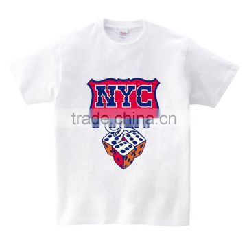 """NYC"" Dice Hotfix Transfer Printing Foil Colorful for Clothes"