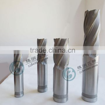 CNC Lathe Straight Shank Brazed Carbide End Mill