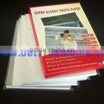 150gsm high glossy inkjet photo paper, cast coated photo paper.