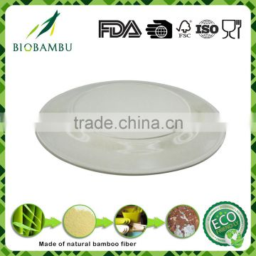 Degradable Eco-friendly Best design Bamboo Fiber Eco Plate