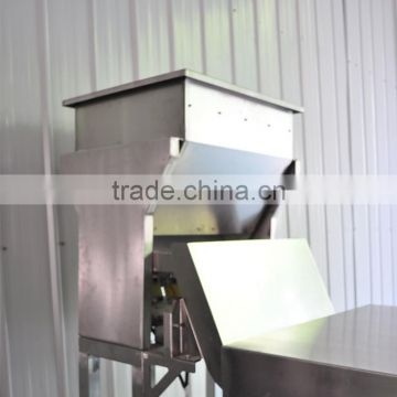 Dehydrated garlic accurate optical belt color sorter machine with advanced software
