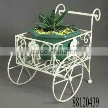 Iron Wheelbarrow Plant holder