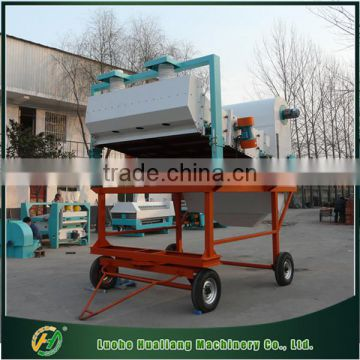 Best quality movable rice cleaning machine with cycle air separator
