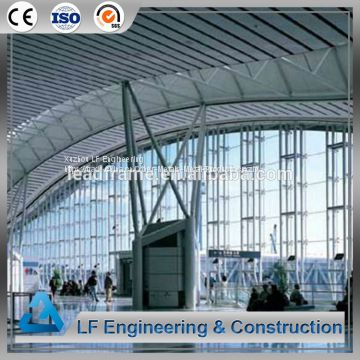 Factory Price Steel Roof Material Space Frame Airport for Sale