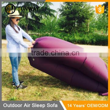 Inflatable Outdoor Air Sleep Sofa Couch Imitate Nylon External Internal