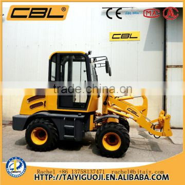 ZL10B 1000kg China mini tractors with front end loader for sale