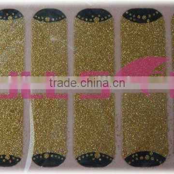 beauty sticker nail glitter wraps art decal for party