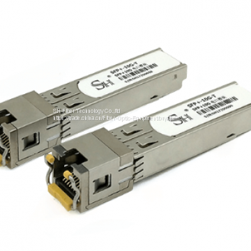 10GBase T Copper SFP+ Optical Transceivers