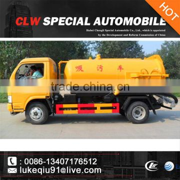 Sewage Suction Truck sewage vacuum drainage truck for sale