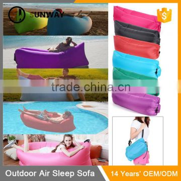 Outdoor Convenient Inflatable Hangout Air Sleeping Bag