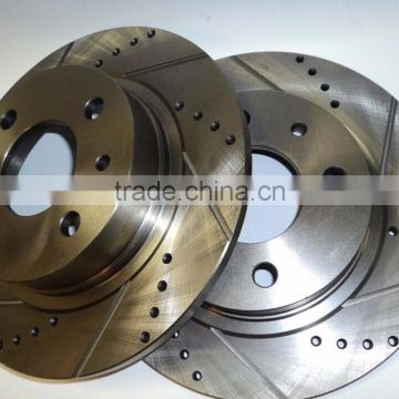45251-S87-A00 oem number and I need the iron casted, cross drilled and slotted disc brake