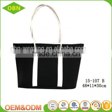 China wholesale custom large size high quality for women use felt handle bag